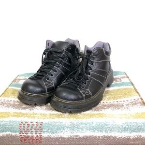 Awesome black Dr. Martens men's ankle boots